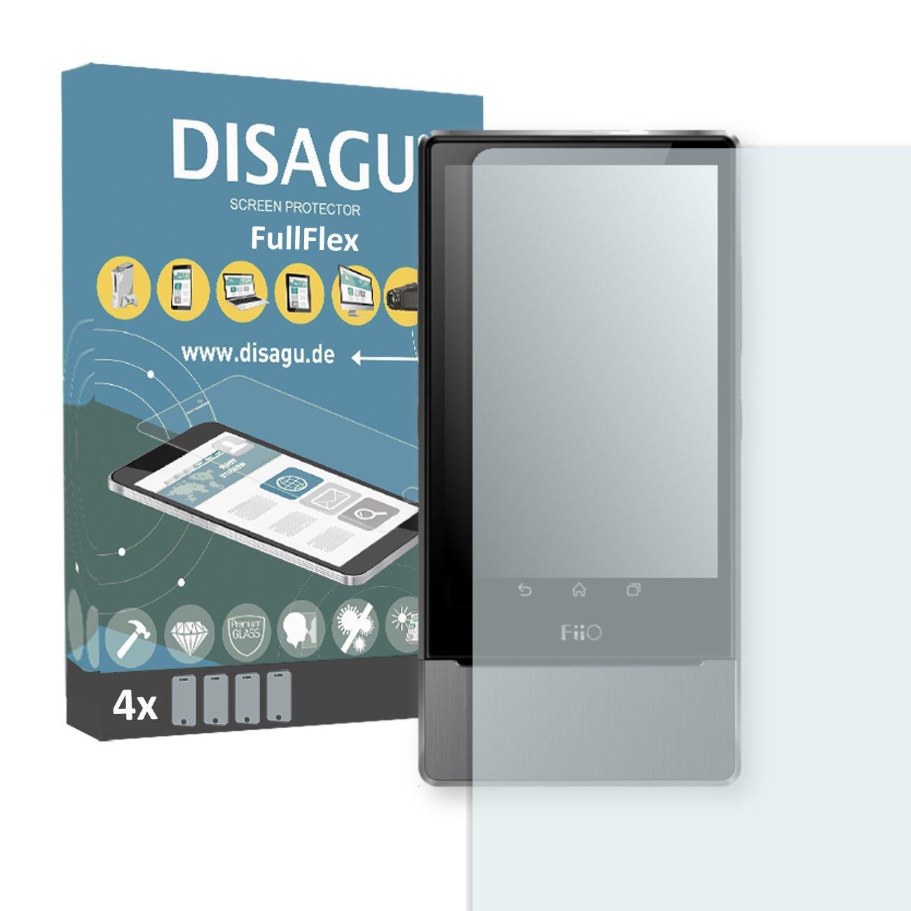 4 x Disagu FullFlex screen protector for FiiO X7 foil screen protector