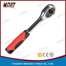 "1Piece 1/4"" High Torque Ratchet Wrench for Socket 72 Teeth Cr-v Quick Release Professional Hand Tools A Type"