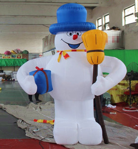Christmas Santa Decoration,Inflatable Snow Man,Xmas Inflatables