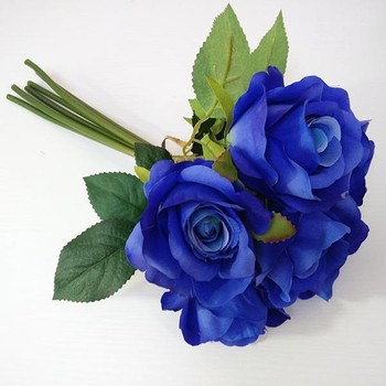 Blue Rose Artificial Flowers Imported From China