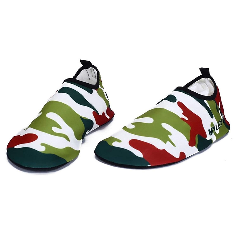 Dovaly Men Sneaker Quick-Drying Slippers Socks Sea Aqua Water Shoe