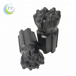 64mm r38 t38 retract thread button drilling bit with great price