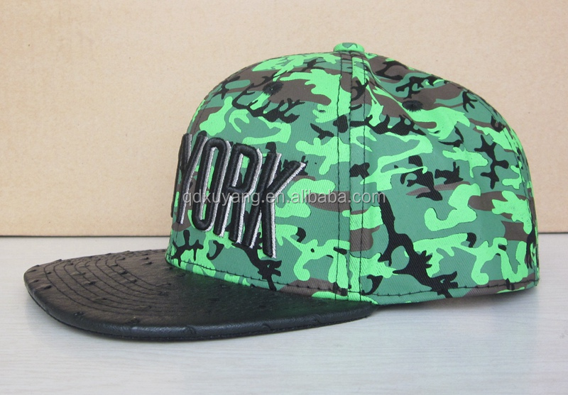 this green camo snapback caps and hats are welcomed by customer