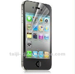 Clear LCD Screen Protectors for iphone 4/4s- Anti-Scratch Guards Display Savers
