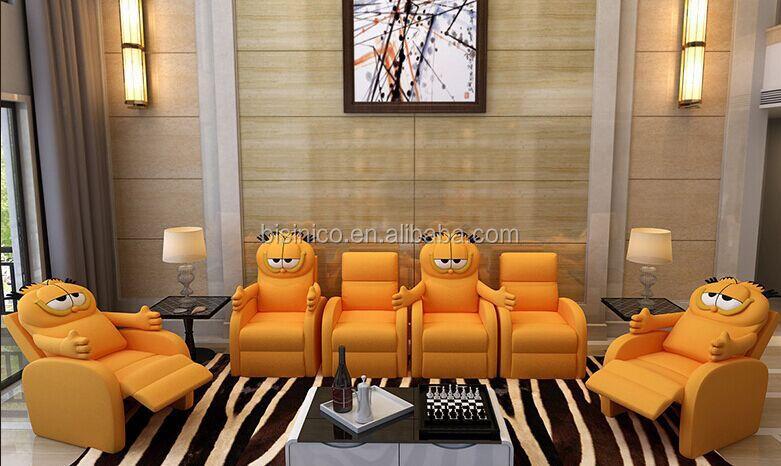 Bisini Garfield Cat Shape Multifunctional Sofa Chair Top