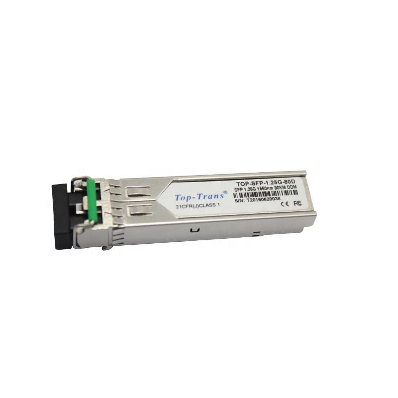 6COM SFP Optical Transceiver 1.25G 1550nm 80km compatible with cisco SFP-GE-Z