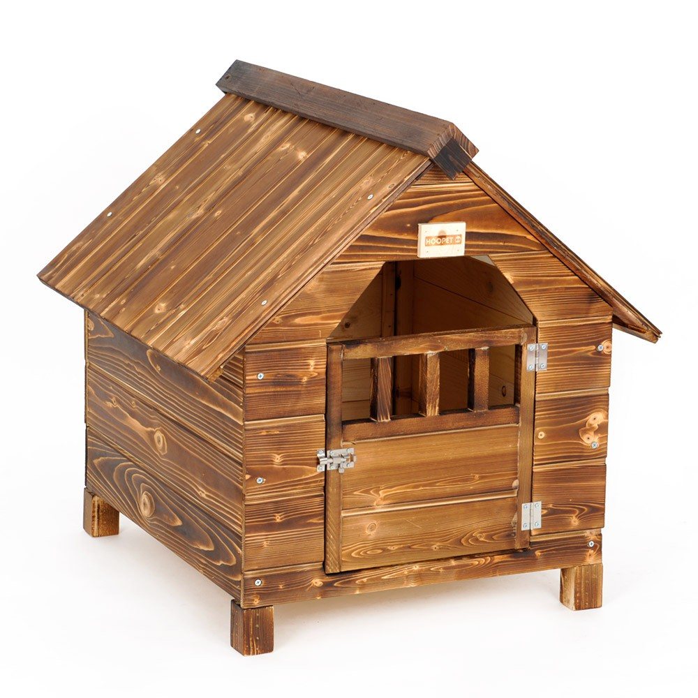 Large Outdoor Indoor Insultated Flat Pack Wooden Dog House