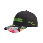 Custom Korean Hat Style Cotton Embroidery Baseball Cap For Adult