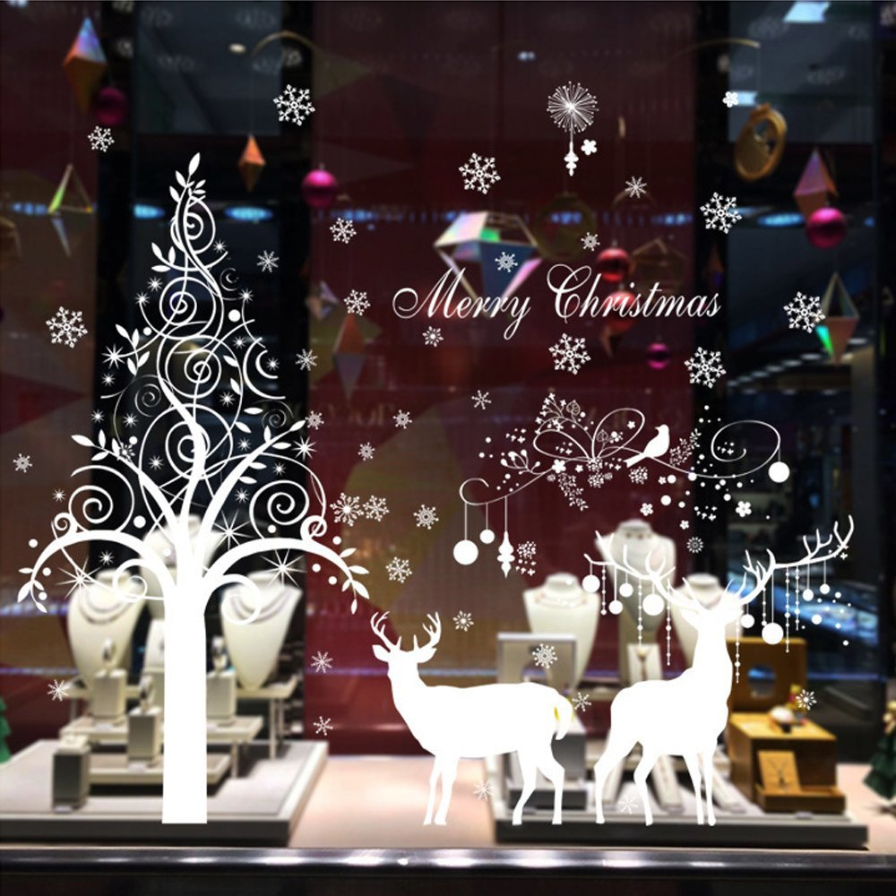 Fantastic Cheap Christmas Tree Window Decal Find Christmas Tree Download Free Architecture Designs Scobabritishbridgeorg