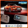Manufacture 2 Channel Rearview Mirror waterproof car recorder Car Dvr Carcam