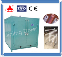GMP hot air tray dryer/hot air drying machine
