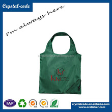 Promotional Polyester Spunbond Nonwoven Fabric Folding Shopping Bag