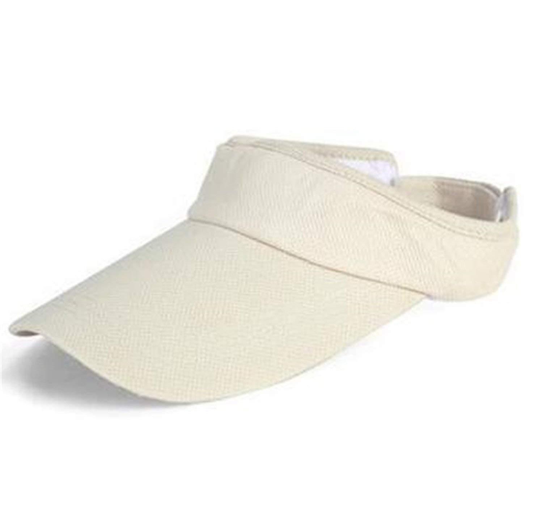 Women Men's Tennis Cap Summer Sun Visor Hats For Male Female Cap Adjustable Hat Solid Color New