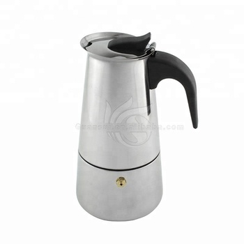 Professional Kitchen Espresso Mirror Polish Large And Mini Stainless Steel Cold Brew Hand Coffee Maker