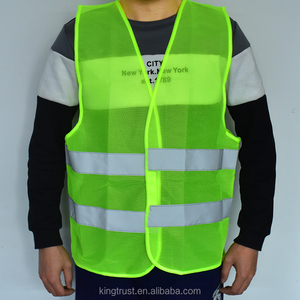 New Safety Clothing Visibility Security Safety Vest Jacket Reflective Strips Work Wear Uniforms Clothing Hot Sale