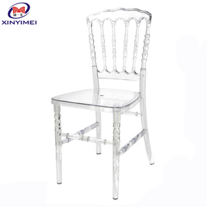 integrated clear Resin White Chiavari Chair Chivalry Chairs