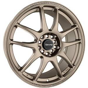 Drag Wheels DR-31 16x7/ 4x100/ 4x114.3 Rally Bronze Full rims