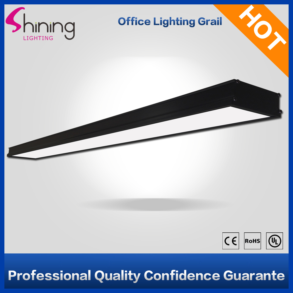 New Design Classical Black 110x1200mm Led Office Hanging Linear Light