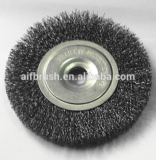 Bench Grinder Wire Brush Rotary Brush For Deburring