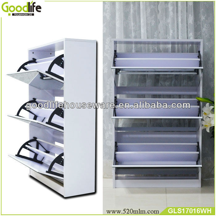 Por Modern High Quality Waterproof Cabinet Style Shoe Rack Outdoor From Goodlife