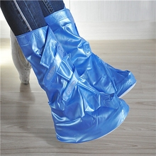 winter transparent dress boot shoe cover
