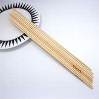 Decorative custom fruit BBQ knotted bamboo skewer