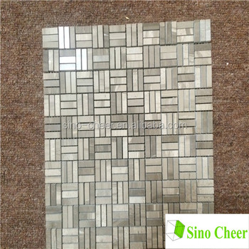Mini Brick Shaped Vintage Bathroom Mosaic Tiles
