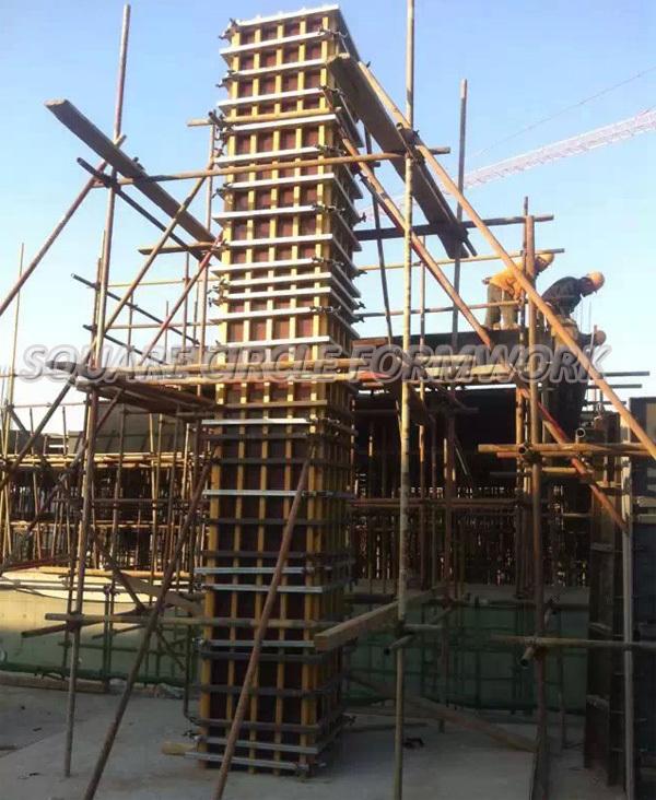 High Efficient Pp Plastic Coated Concrete Formwork Panel