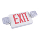North American standard ABS housing rechargeable alarm lights led emergency light fire safety Combo exit sign for building