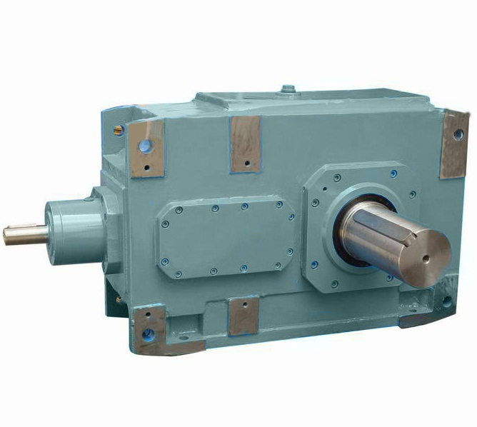 B Series heavy duty industrial bevel helical gearbox
