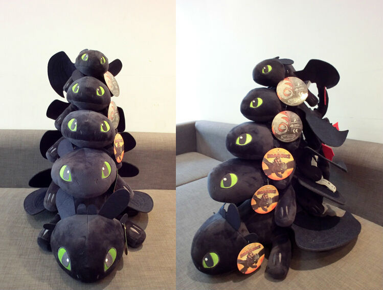 Detail Feedback Questions About 60cm Night Fury Plush Toy How To