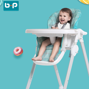 EN14988 adjustable baby high chair 3 in 1 for feeding