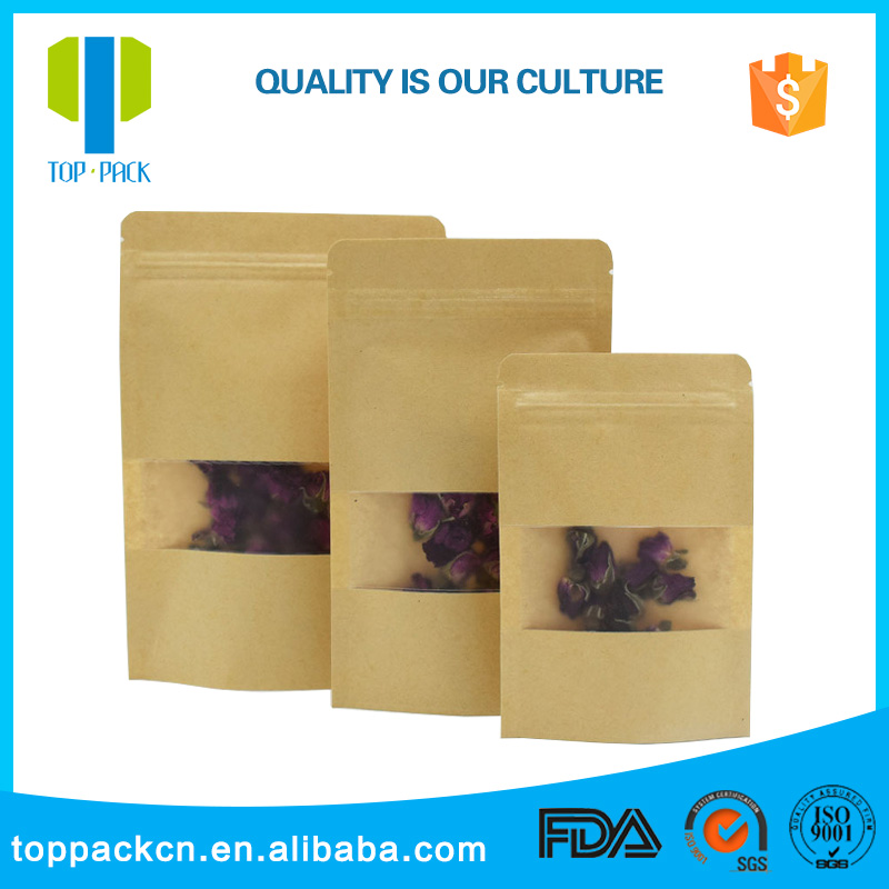 Packaging & Printing Custom Made Craft Promotion Kraft Paper Bag Luxury Paper Gift Bag
