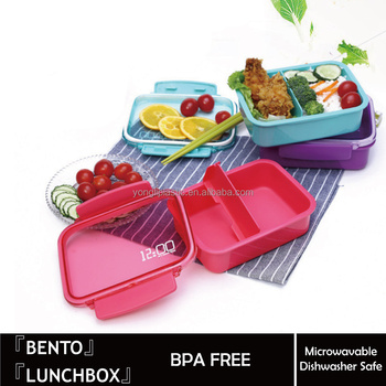 promotional plastic lunch box bento lunch box insulated. Black Bedroom Furniture Sets. Home Design Ideas