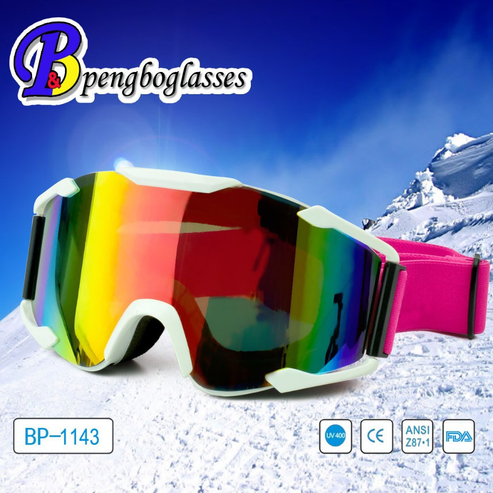 Best selling snowboarding interchangeable lens ski goggles