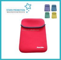 neoprene tablet sleeve; promotional neoprene ipad case; customized laptop bag