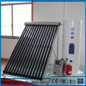 Modern design China pressurized solar water heater split