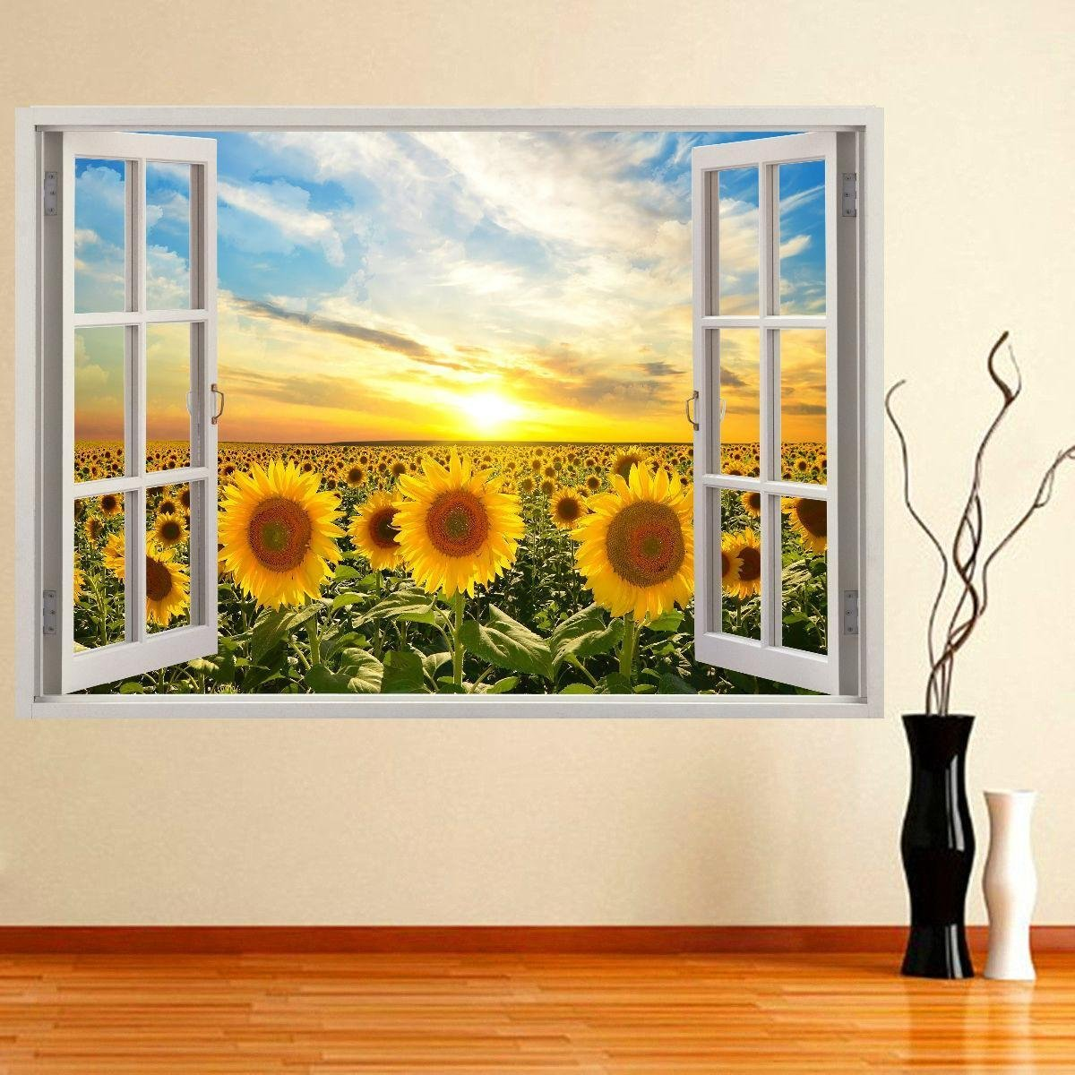 Cheap Sunflower Wall Mural, find Sunflower Wall Mural deals on line ...