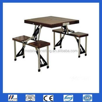Multi purpose Camp Suitcase Folding Tables And Chairs For Sale