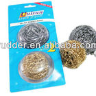 kitchen cleaning stainless steel scourer/brass clean ball