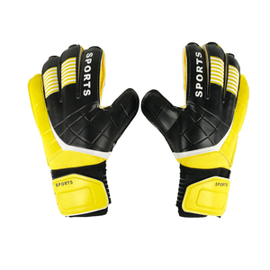 HYL-1805 factory price professional latex finger guard soccer keeper gloves