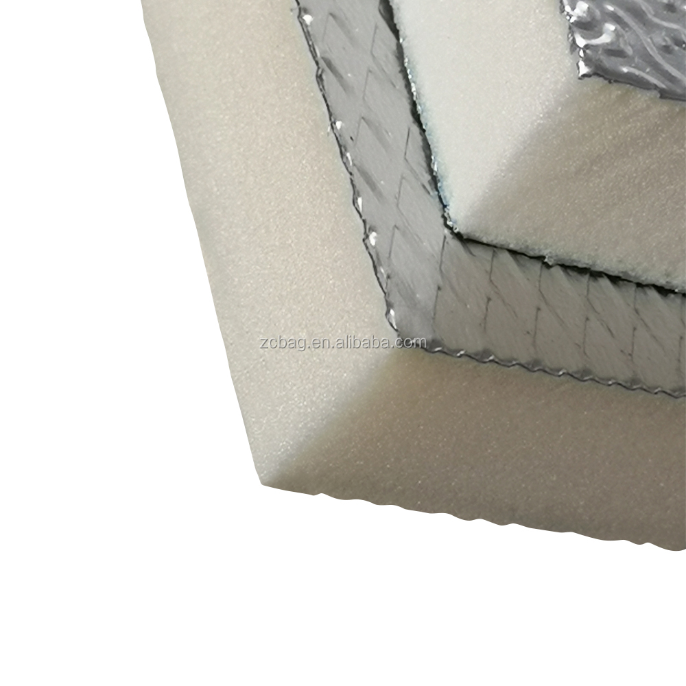 Customized rigid polyisocyanurate insulation foam aluminum foil PIR foam board for building