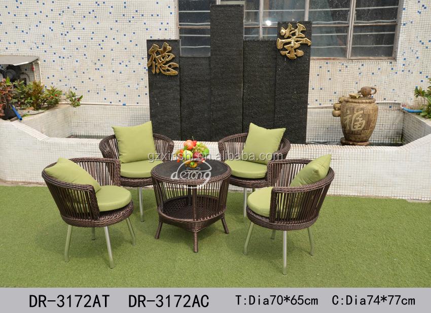 Nuevo Diseño Té Tiempo Muebles De Jardín Rota Ocio Mesa Y Sillas ...
