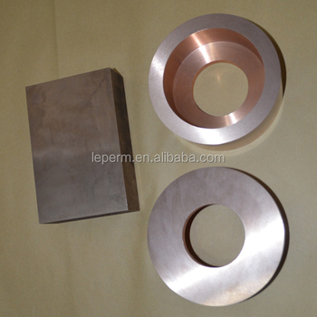 WCu rod/plate/disc/ring tungsten copper alloy factory