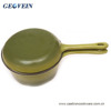 Multifunction Cast Iron Enamel cookware SaucePan with skillet lid for Sale