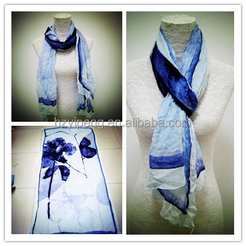 China Factory Direct Sale Women Mufflers Top Quality Viscose Scarf Printed