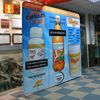 Textile Pop-Up Banners Transfer Printed with Aluminium Stands