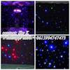 full color visual effect led star drop curtain