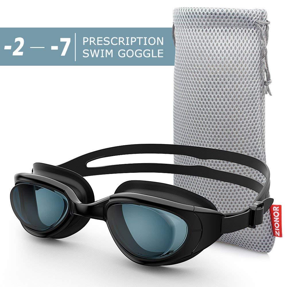 9d11a2aa568 Get Quotations · Zionor RX Prescription Swim Goggles