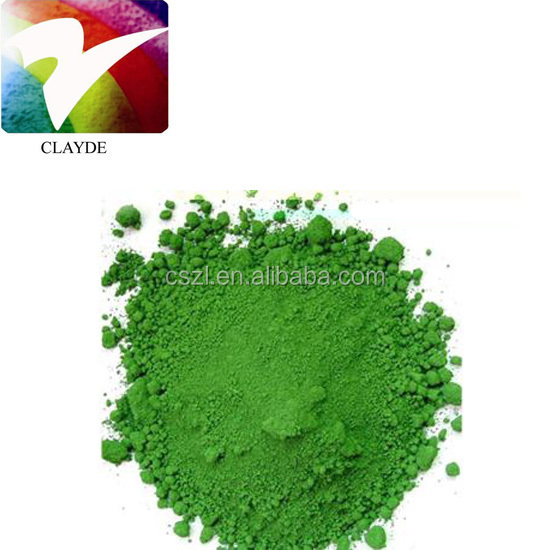 Chrome Oxide Green Pigment Cr2O3 Heatstable chromium oxide green